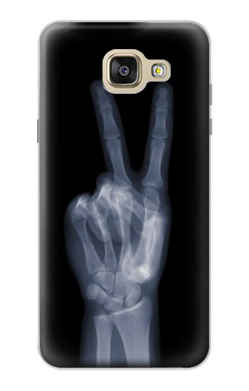 Printed X-ray Peace Finger Samsung Galaxy A5 (2016) Case