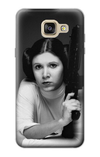 Printed Princess Leia Carrie Fisher Samsung Galaxy A5 (2016) Case