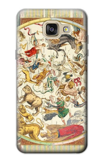 Printed Antique Constellation Map Samsung Galaxy A5 (2016) Case