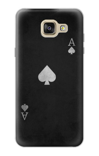 Printed Black Ace of Spade Samsung Galaxy A5 (2016) Case
