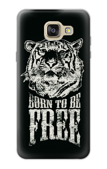 Printed Born to Be Free Tiger Samsung Galaxy A5 (2016) Case