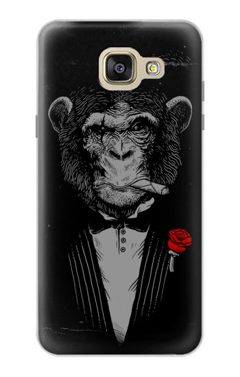 Printed Funny Monkey God Father Samsung Galaxy A5 (2016) Case