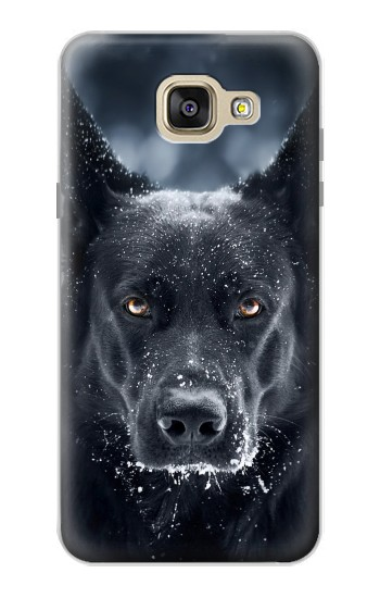 Printed German Shepherd Black Dog Samsung Galaxy A5 (2016) Case
