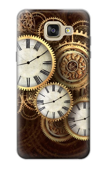 Printed Gold Clock Live Samsung Galaxy A5 (2016) Case