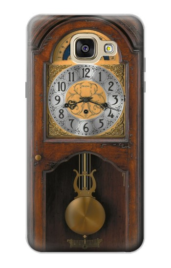 Printed Grandfather Clock Antique Wall Clock Samsung Galaxy A5 (2016) Case
