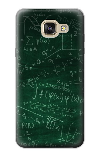 Printed Math Formula Greenboard Samsung Galaxy A5 (2016) Case