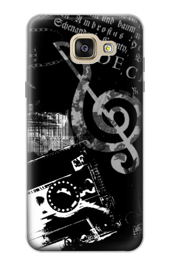 Printed Music Cassette Note Samsung Galaxy A5 (2016) Case