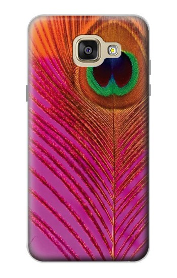 Printed Pink Peacock Feather Samsung Galaxy A5 (2016) Case