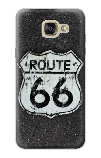 Printed Route 66 Sign Samsung Galaxy A5 (2016) Case