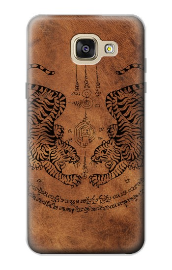 Printed Sak Yant Twin Tiger Samsung Galaxy A5 (2016) Case
