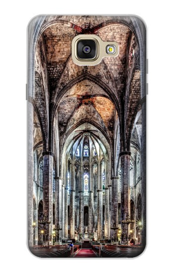 Printed Santa Maria Del Mar Cathedral Samsung Galaxy A5 (2016) Case