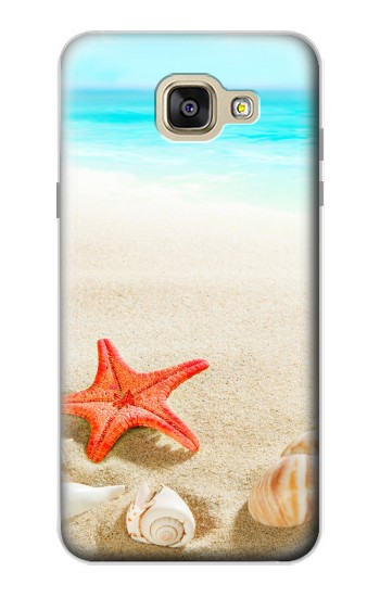 Printed Sea Shells Starfish Beach Samsung Galaxy A5 (2016) Case