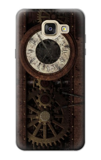 Printed Steampunk Clock Gears Samsung Galaxy A5 (2016) Case