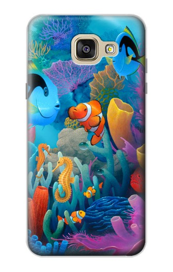 Printed Underwater World Cartoon Samsung Galaxy A5 (2016) Case