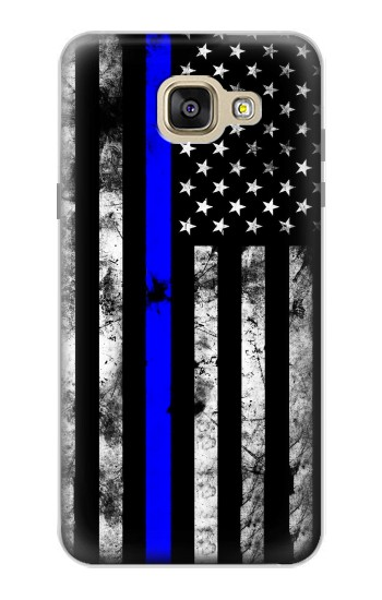 Printed Thin Blue Line USA Samsung Galaxy A5 (2016) Case