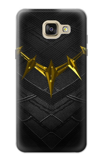 Printed Black Panther Inspired Costume Gold Necklace Samsung Galaxy A5 (2016) Case