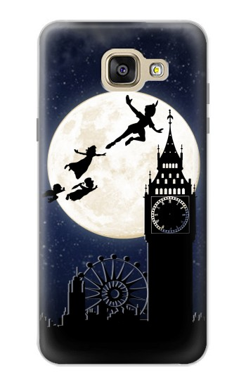 Printed Peter Pan Fly Fullmoon Night Samsung Galaxy A5 (2016) Case