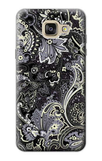 Printed Batik Flower Pattern Samsung Galaxy A5 (2016) Case