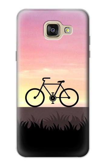Printed Bicycle Sunset Samsung Galaxy A5 (2016) Case
