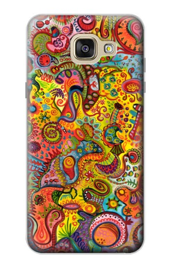 Printed Colorful Art Pattern Samsung Galaxy A5 (2016) Case