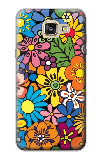 Printed Colorful Flowers Pattern Samsung Galaxy A5 (2016) Case