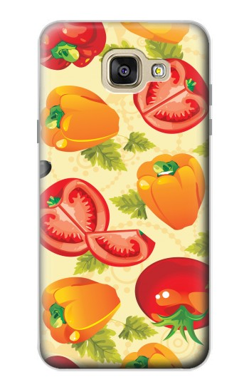 Printed Seamless Food Vegetable Samsung Galaxy A5 (2016) Case
