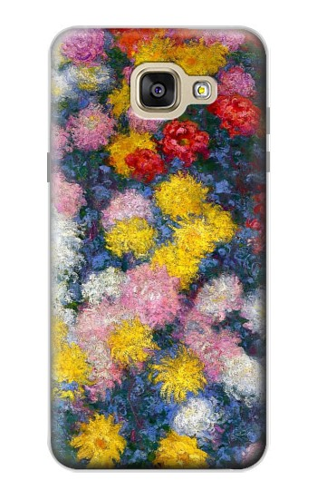 Printed Claude Monet Chrysanthemums Samsung Galaxy A5 (2016) Case