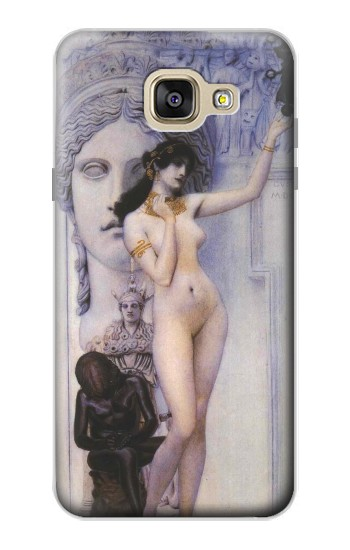 Printed Gustav Klimt Allegory of Sculpture Samsung Galaxy A5 (2016) Case