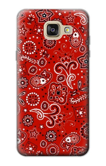 Printed Red Bandana Samsung Galaxy A5 (2016) Case