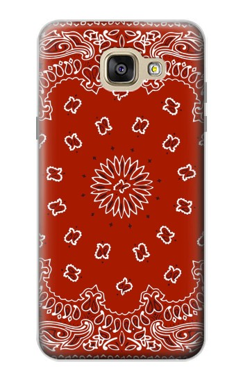 Printed Bandana Red Pattern Samsung Galaxy A5 (2016) Case