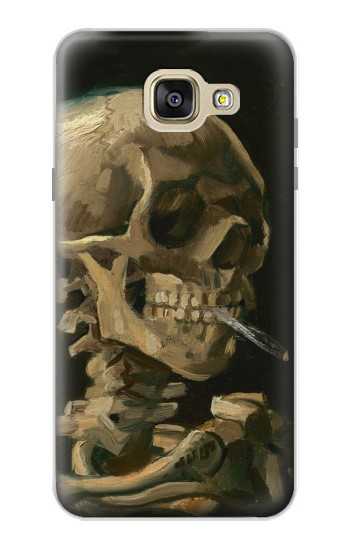 Printed Vincent Van Gogh Head Skeleton Cigarette Samsung Galaxy A5 (2016) Case