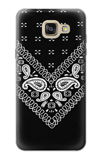 Printed Bandana Black Pattern Samsung Galaxy A5 (2016) Case
