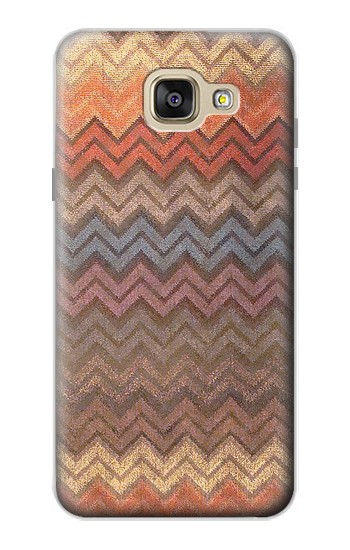 Printed Zigzag Fabric Pattern Graphic Printed Samsung Galaxy A5 (2016) Case