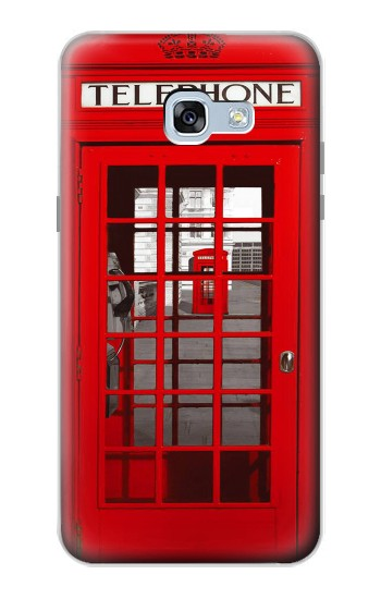 Printed Classic British Red Telephone Box Samsung Galaxy A5 (2017) Case