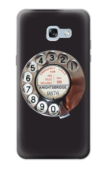 Printed Retro Rotary Phone Dial On Samsung Galaxy A5 (2017) Case