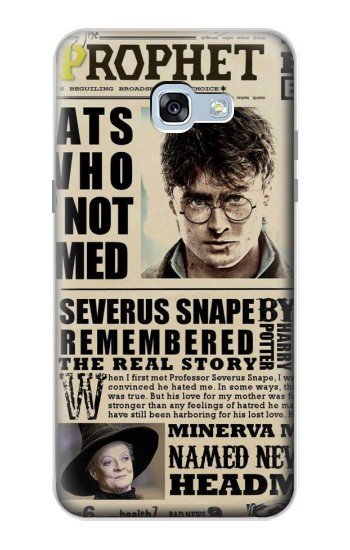 Printed Harry Potter Daily Prophet Samsung Galaxy A5 (2017) Case