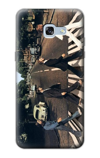 Printed The Beatles Abbey Road Samsung Galaxy A5 (2017) Case
