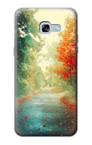 Printed Road Through The Woods Samsung Galaxy A5 (2017) Case