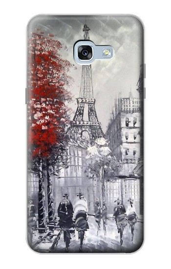Printed Eiffel Painting of Paris Samsung Galaxy A5 (2017) Case
