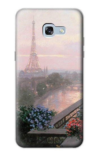 Printed Terrace in Paris Eifel Samsung Galaxy A5 (2017) Case
