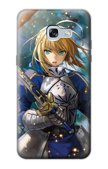 Printed Fate Stay Night Saber Arturia Pendragon Samsung Galaxy A5 (2017) Case