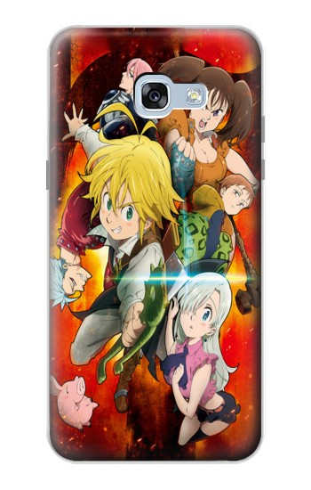 Printed Nanatsu no Taizai The Seven Deadly Sins Wrath Dragon Meliodas Samsung Galaxy A5 (2017) Case