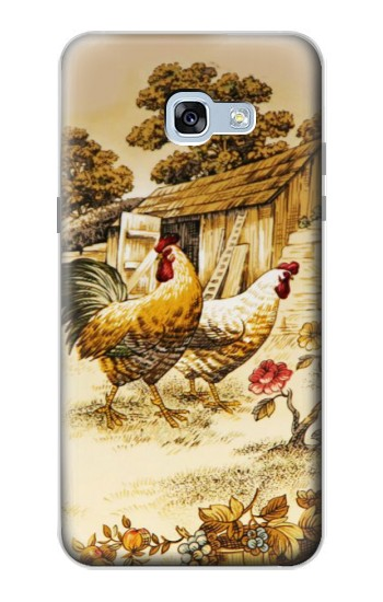 Printed French Country Chicken Samsung Galaxy A5 (2017) Case