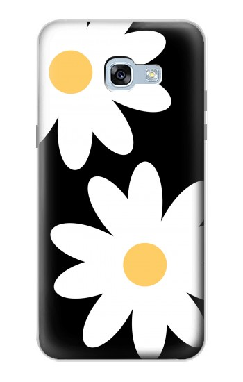 Printed Daisy White Flowers Samsung Galaxy A5 (2017) Case