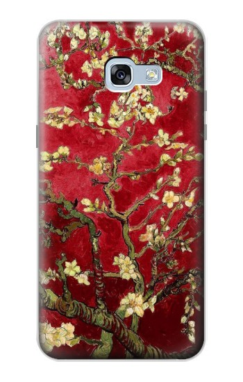 Printed Red Blossoming Almond Tree Van Gogh Samsung Galaxy A5 (2017) Case