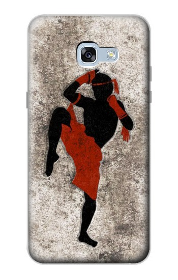 Printed Muay Thai Fight Boxing Samsung Galaxy A5 (2017) Case