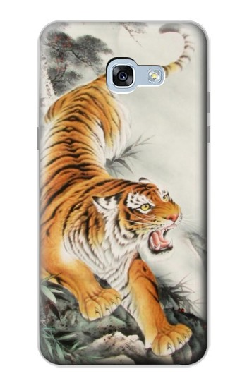Printed Chinese Tiger Tattoo Painting Samsung Galaxy A5 (2017) Case