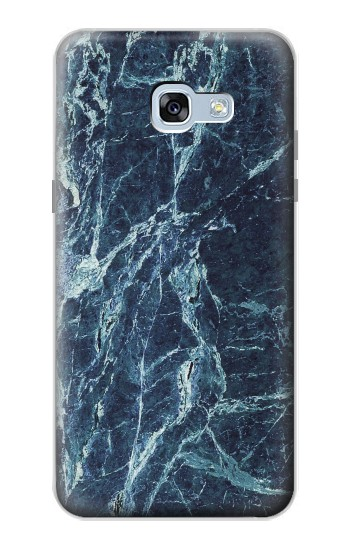 Printed Light Blue Marble Stone Texture Printed Samsung Galaxy A5 (2017) Case