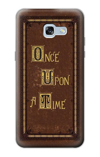 Printed Once Upon a Time Book Cover Samsung Galaxy A5 (2017) Case