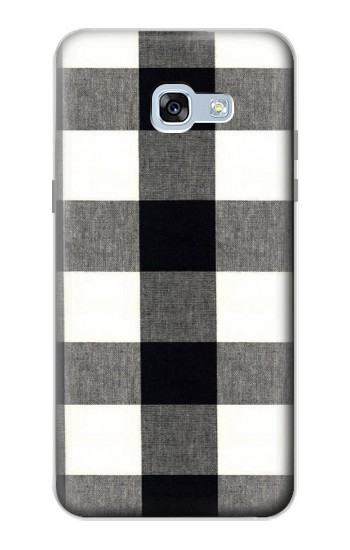 Printed Black and White Buffalo Check Pattern Samsung Galaxy A5 (2017) Case